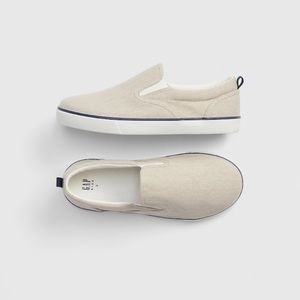 NWT Baby GAP Beige Slip-On Sneakers